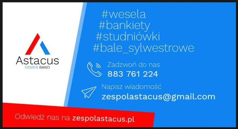 Astacus Cover Band - zespoly-wesele.pl