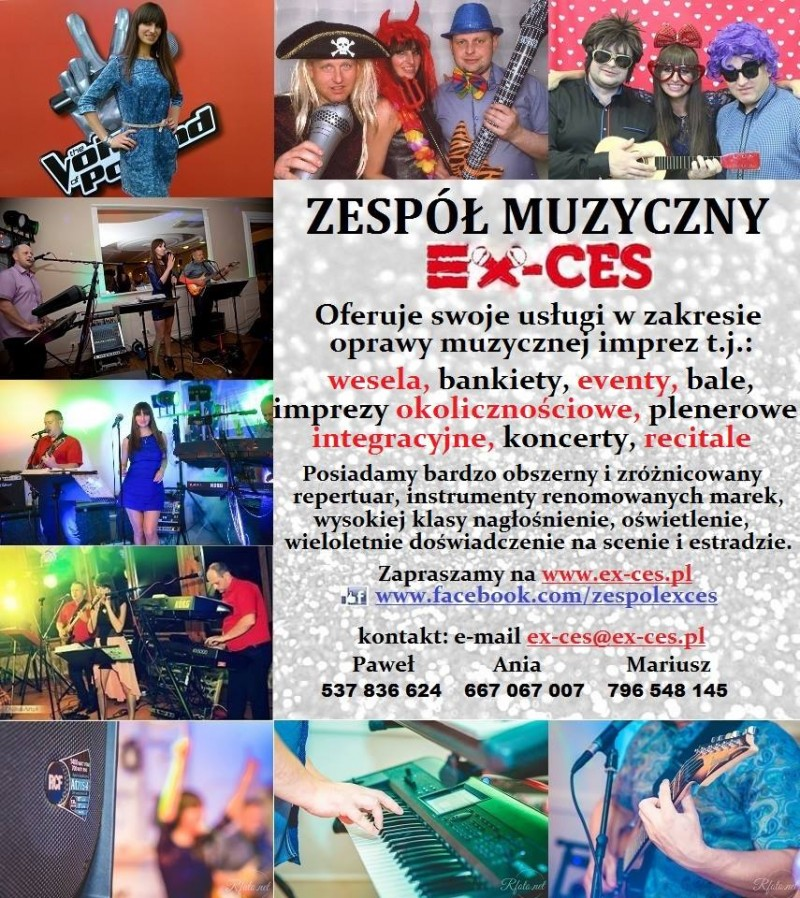 EX-CES COVER GROUP - zespoly-wesele.pl