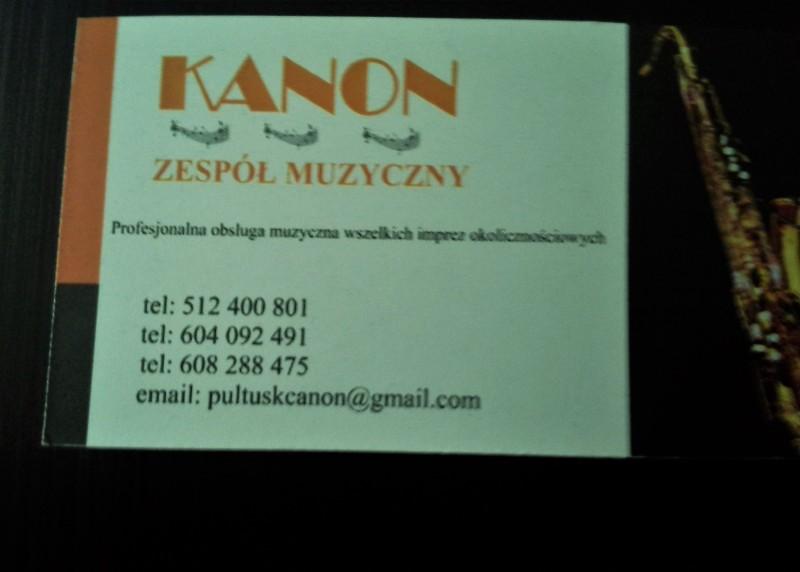 Kanon - zespoly-wesele.pl