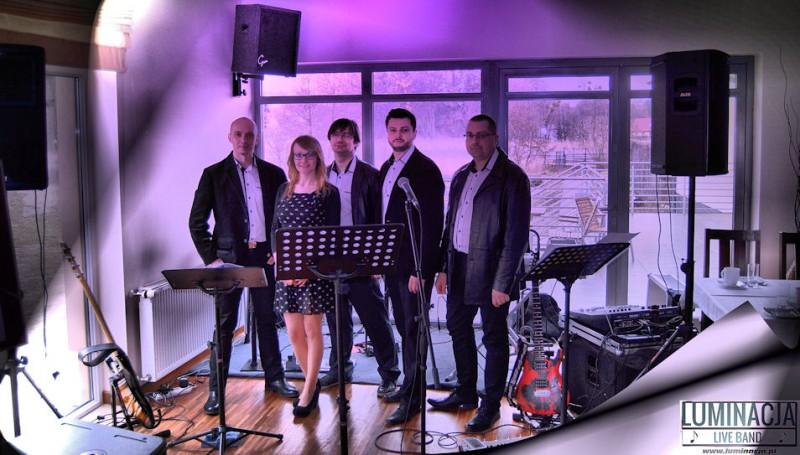 Luminacja live band - zespoly-wesele.pl
