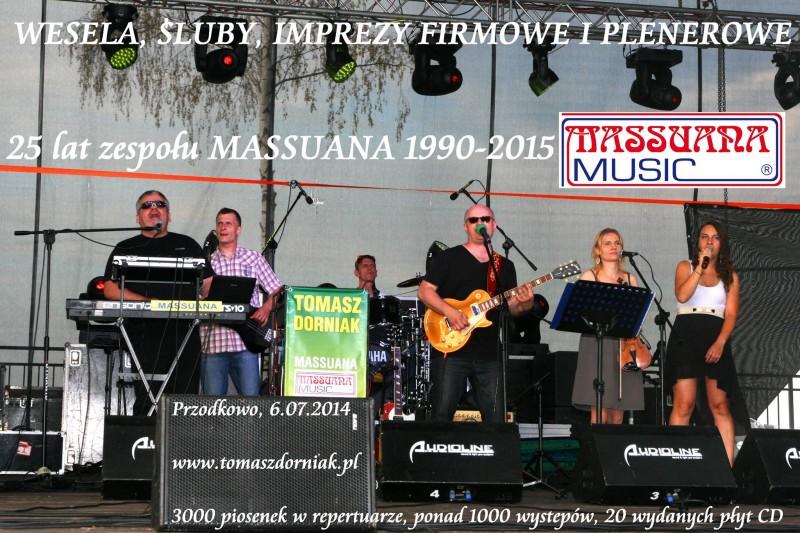 MASSUANA  - zespoly-wesele.pl