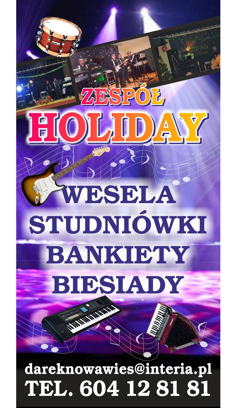 Zespół Holiday Ełk - zespoly-wesele.pl